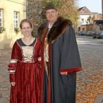 Ein starkes Team: Luther und seine Frau Katharina, gespielt von Volker und Kerstin Strauch. Foto be