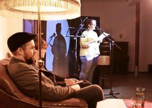 Die Luckauer Theaterloge veranstaltete in ihrer Kleinkunstbühne erstmals einen Poetry Slam. Foto: B. Keilbach/bkh1